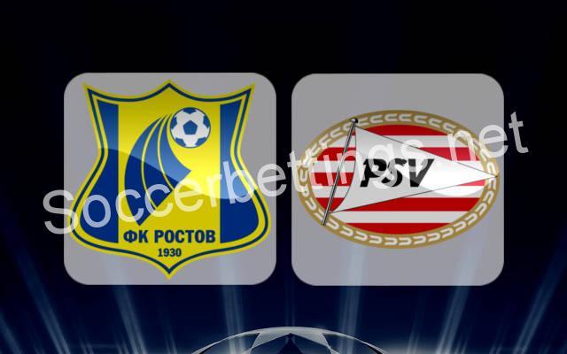 PSV EINDHOVEN vs FK ROSTOV PREDICTION (06.12.2016)