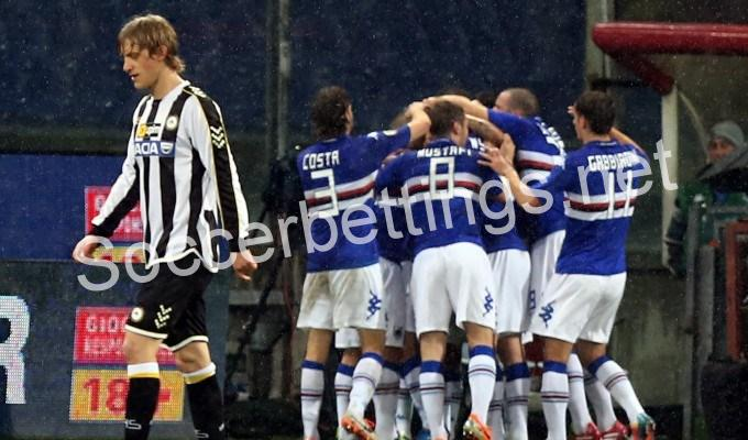 SAMPDORIA – UDINESE PREDICTION (22.12.2016)