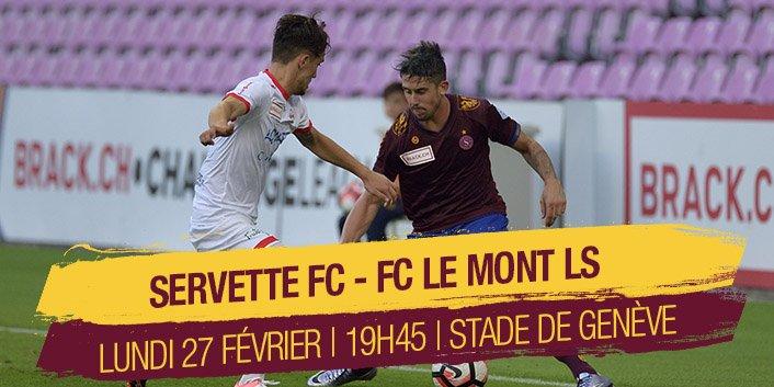SERVETTE FC – LE MONT FC PREDICTION (27.01.2017)